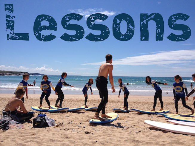 Picture of Surfing Lessons
