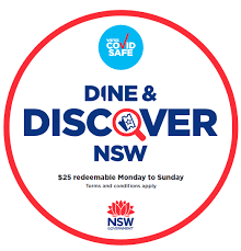 Dine and Discover NSW vouchers