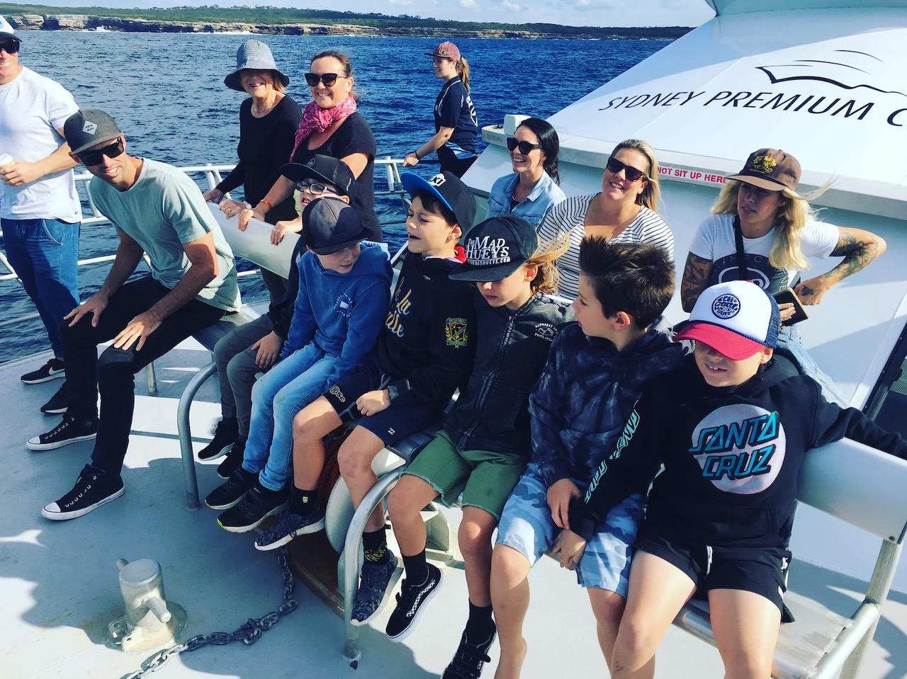 School holiday whale watching trip Cronulla